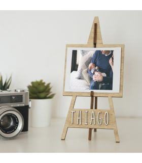 "Customized wooden photo frame ""Painting Easel"" - Vintiun"
