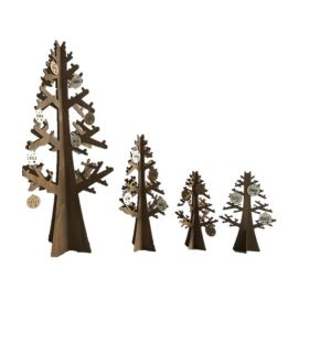 Wooden fir tree