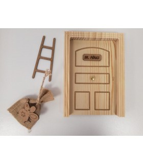 The Tooth Fairy's door in wood