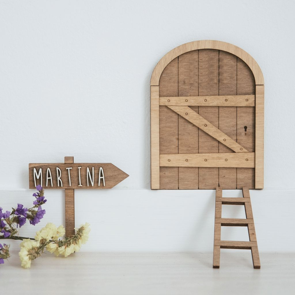 Customized wooden photo frame clip
