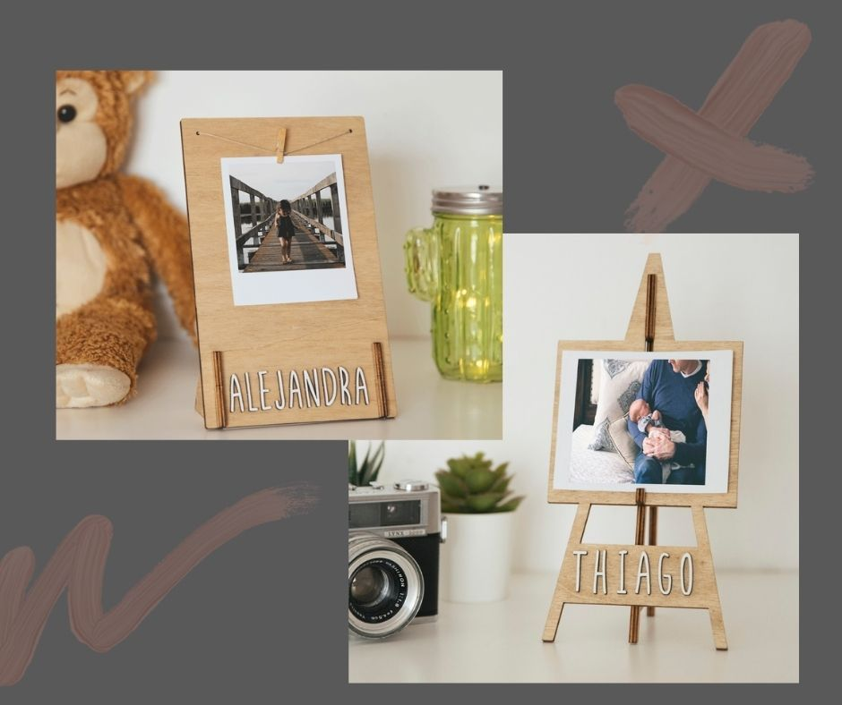 Customized wooden photo frames
